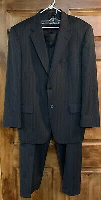 Joseph Abboud NORDSTROM 2-Piece 100% Wool 2 Button Suit 42R/W36 32 Inseam NICE!