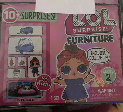 Lol Surprise Furniture Road Trip Series 2 Doll Can Do Baby