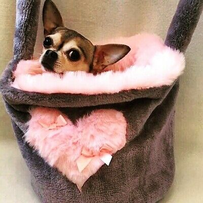Pet Carrier Bag Chihuahua Puppy Hand Made In The Uk 🇬🇧