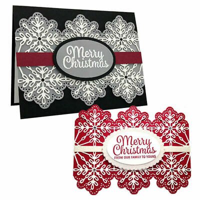 Merry Christmas Metal Cutting Dies Stencil Diy Hot Foil Plate Paper Cards Crafts