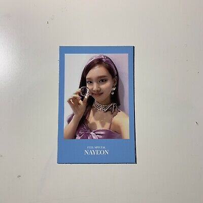 Twice 8th Mini Album: Feel Special - Nayeon Official Photocard (US ONLY)