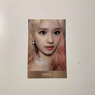 Twice 8th Mini Album: Feel Special - Sana Official Photocard (US ONLY)