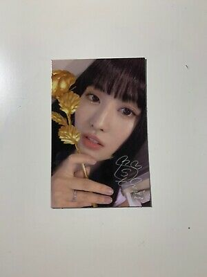 Twice 8th Mini Album: Feel Special - Momo Official Photocard (US ONLY)
