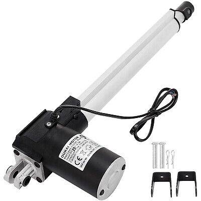 6000N Electric Linear Actuator 1320 lbs Max Lift Heavy Duty 12V DC Motor