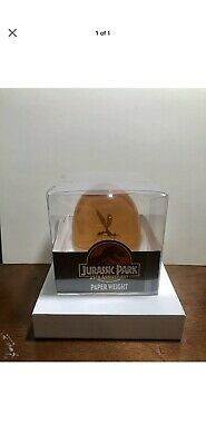 Jurassic Park 25th Anniversary Mosquito In Amber Paper Weight