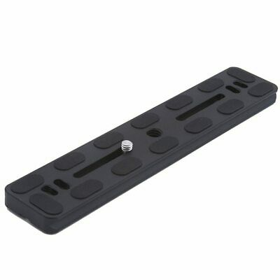Black Metal PU-200 Universal Quick Release Plate Fits Arca-Swiss Standard for Tr