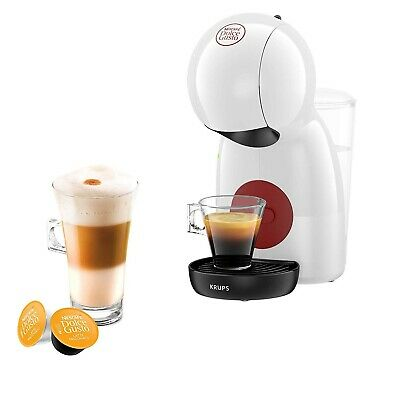 Nescafe Dolce Gusto Krups Piccolo XS White Coffee Maker Machine KP1A0140