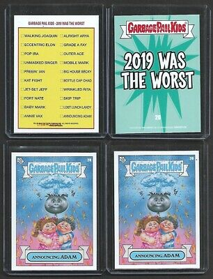 """2019 Topps Garbage Pail Kids """"2019 Was The Worst"""" #8 ~ Fort NATE"""