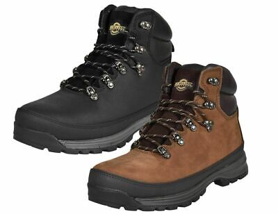 NORTHWEST Mens Waterproof Hiking Ankle Boots Leather Trail Walking UK Size 6-12