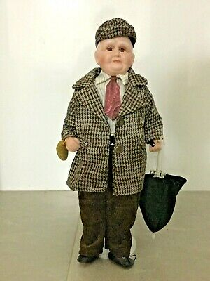 Homeart Grandfather/Pop 'Bisque' Porcelain Doll - New in Box.