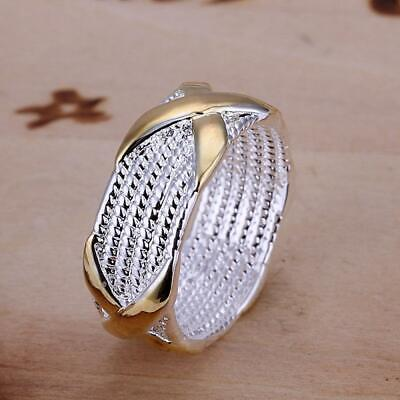 Classic Wholesale New Womens Silver Plated Ring Jewelry Size 6,7,8,9