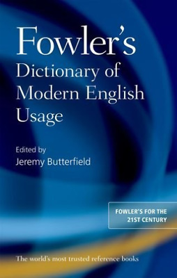-Fowler`S Dictionary Of Modern English Usage (UK IMPORT) BOOKH NEW
