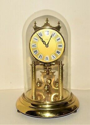 Large 30 CM Vintage Kern Anniversary Torsion 400 Day Dome Clock