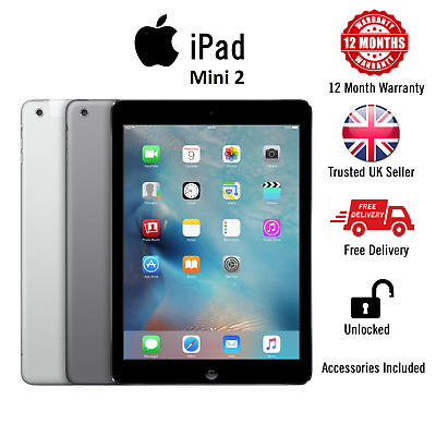 Apple iPad Mini 2, 32GB Retina Display, Wi-Fi, 7.9in, + Warranty