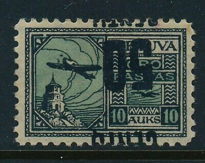 Lithuania. 1922. 50 c/10 A. Unused with INVERTED WATERMARK -- HFG --