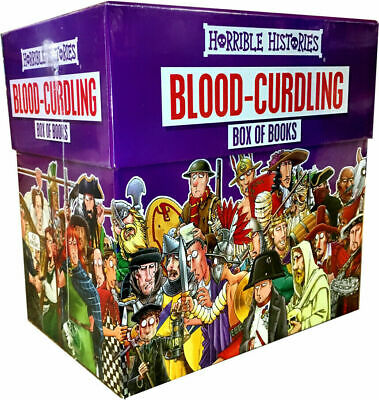 HORRIBLE HISTORIES Blood Curdling Collection 20 Books Box Children NEW