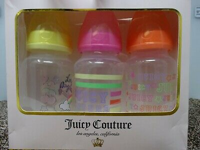 Juicy Couture 3 pack 11 oz Bottle Gift Set - NEW