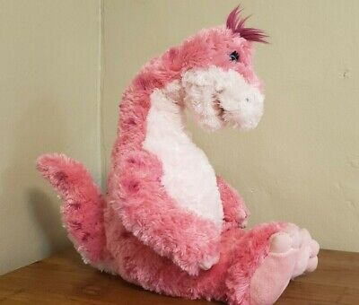 "Pink Dinosaur Build A Bear Workshop 20"" Apatosaurus Stuffed Plush Toy BABW"