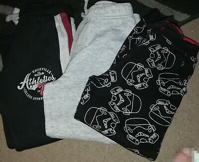 Boys Joggers x 3 Age 5-6 Years