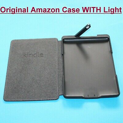 Official / Genuine Amazon Kindle 4th/5th Generation Black Leather Cover Case