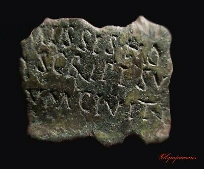 ** OUTSTANDING **  Ancient Roman Bronze LEGIONARY ** DIPLOMA ** Part