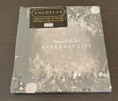 "Coldplay ""Everyday Life"" Brand New 2019 Original Double Usa Cd Album"