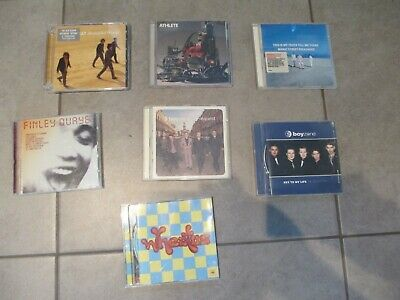 Job Lot 25 X Music CDs - Including Keane / Coldplay / Toploader / Reef / Athlete