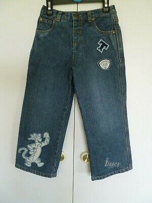 Boys Blue 'Tigger' Jeans Age 3 - 4 years