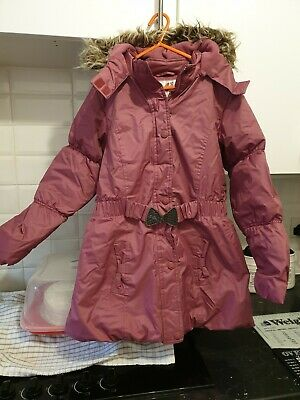 Sweet Millie Girls Pink Padded Coat Age 10yrs