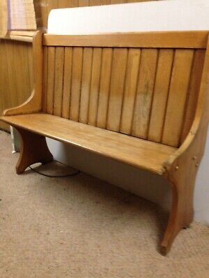 Church Pew/ Bench OAK