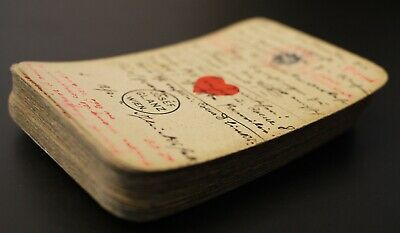 Late 19th Century Austrian Piquet Deck Converted into a Fortune Telling Deck