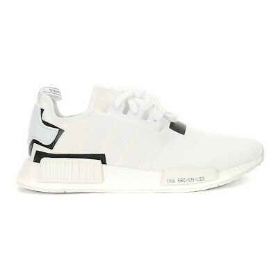 ADIDAS MEN'S NMD_R1 Core BlackCore BlackShock Pink Shoes