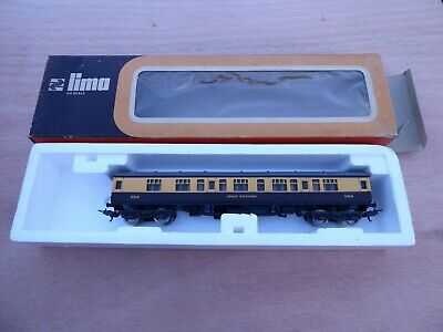 Lima HO scale Great Western Railway (GWR) Coach