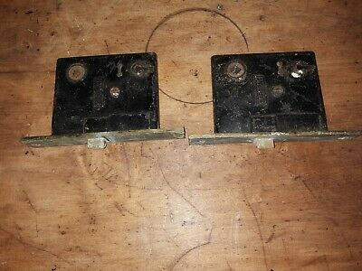 antique authentic Sargent patented June 28 1881 /Jan 26/1886 mortise lock