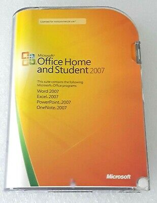 Microsoft Office 2007 Home and Student ~ L@@K !