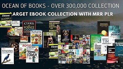 300000 Best EBooks Collection Book Package PDF Master Resell Rights MRR PLR