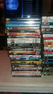 50 different Joblot DVD bundle collection job lot watched once bargain price.  B