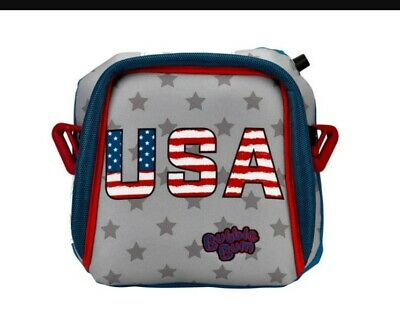 BubbleBum Inflatable Portable Travel Child Booster Car Seat USA Patriotic NEW
