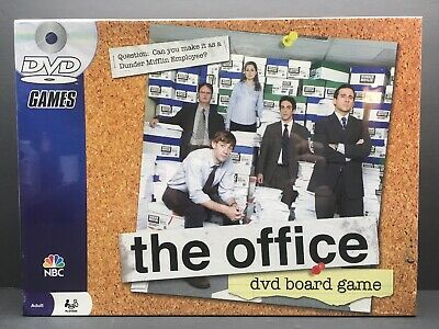 The Office DVD Trivia Board Game Dunder Mifflin  2008 NBC Complete Sealed New