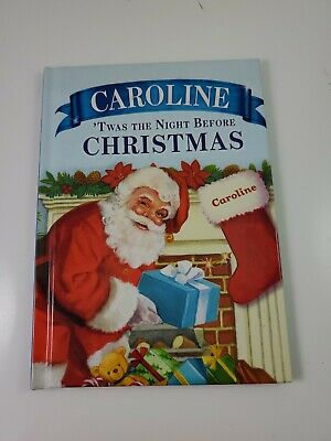 """'Twas the Night Before Christmas Personalized Book """"Caroline"""""""