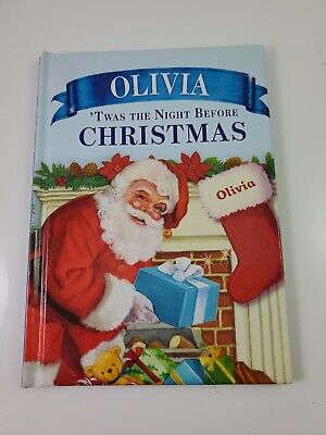 """'Twas the Night Before Christmas Personalized Book """"Olivia"""""""