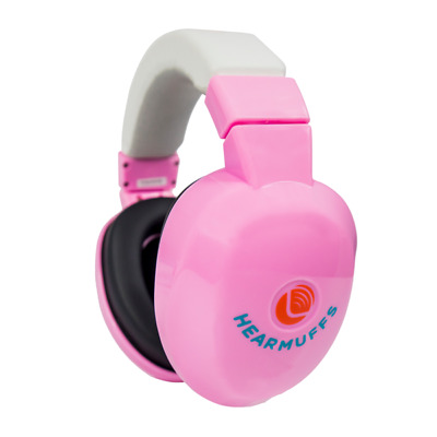 Lucid Audio Baby Hear Muffs Fits 0-4 Years Old NEW IN PACKAGE Pink Free Ship!