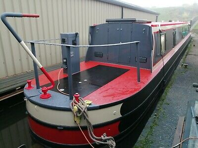 Brand New – 56ft Cruiser Style Stern Narrowboat