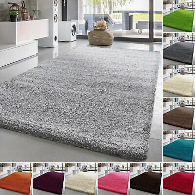 Extra Large Thick Pile Shaggy Rugs Living Room Bedroom Children Bedroom Hallway