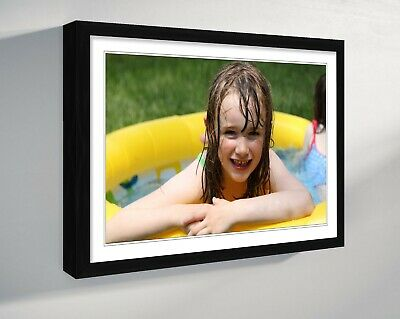 PHOTO ON CANVAS LARGE PERSONALISED  PRINT DEEP FRAMED 30mm A4 A3 A2 A1 A0