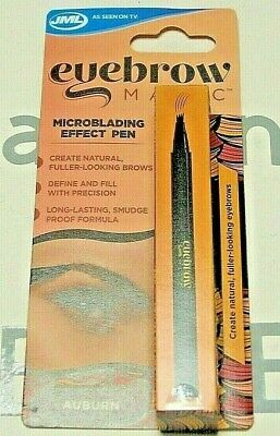 JML-Eyebrow Magic Microblade Effect Pen Define Natural Full Looking Brows Auburn