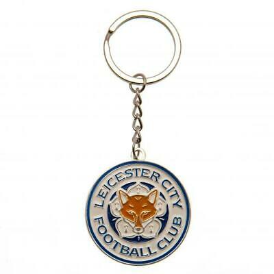Leicester City Football Club Official Rose Gold Plated Metal Key Ring Chain Char