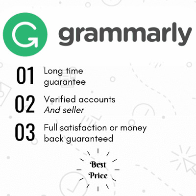 Grammarly Premium Lifetime Account [Fast Delivery] [Best Price]