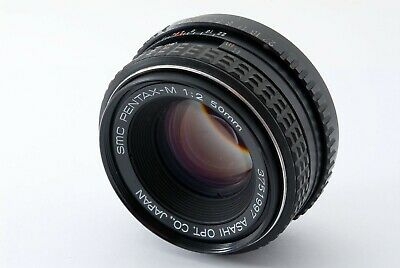 *As is* PENTAX SMC Pentax-M 50mm f/2 MF Lens from JAPAN*985
