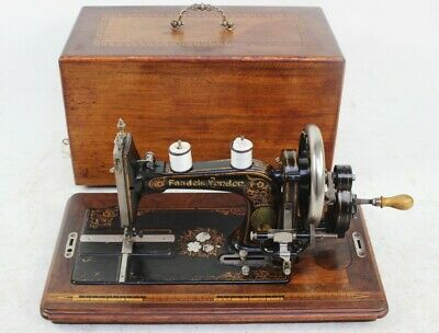 Antique Faudels of London Hand Crank Sewing Machine | Excellent Condition [5797]